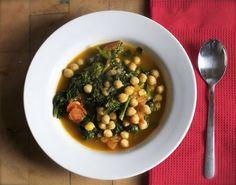 Kichererbsen Curry mitSpinat