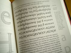 Palatino Sans, the only new sans face in a section still overshadowed by the  serifs. The Elements of Typographic Style, Robert Bringhurst (version 4.0)