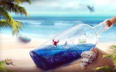 Океан в бутылке