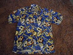 MAMBO Guitar LOUD SHIRT - Excellent Condition - SIZE 16