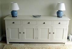 painted buffet sideboards | Painted Sideboard | Bespoke Furniture & Joinery in Cornwall