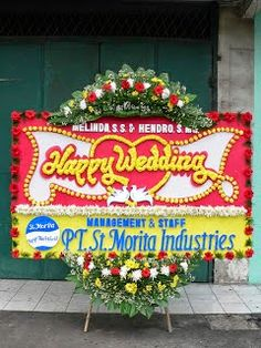 100 Gambar Bunga Papan Pernikahan Terbaik Bunga Pernikahan Bunga Pernikahan