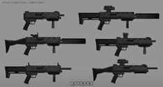 ArtStation - HITMAN - The New Guns, Simon Lindwall
