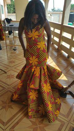 African women dress, latest female outfit African Dresses For Women, African Women, Dashiki Dress, Black Panther, Clothes For Women, Female, Outfits, Fashion, Outerwear Women