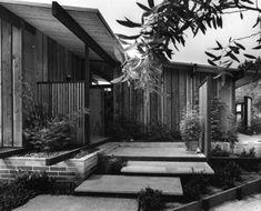 Modern San Diego Dot Com -- Jack White Residence (1964), Del Mar. Photo by George Lyons. Landscape design by Thomas D. Church.