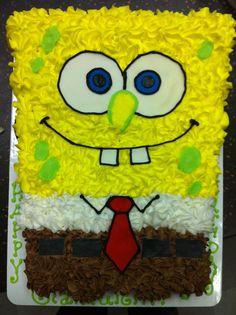 Sponge Bob Cupcake Cake