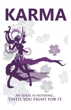 Karma: League of Legends Print by pharafax on Etsy https://www.etsy.com/listing/194320992/karma-league-of-legends-print