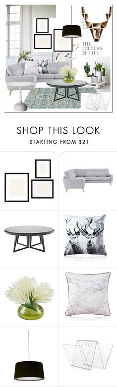 """Living room # Homelava"" by homelava ❤ liked on Polyvore featuring interior, interiors, interior design, home, home decor, interior decorating, Tine K Home, Pottery Barn, John Lewis and Serena & Lily"