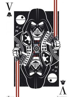 Darth Vader Playing Card poster New Star Wars poster - Star Wars Canvas - Latest and trending Star Wars Canvas. - Darth Vader Playing Card poster New Star Wars poster Star Wars Fan Art, Darth Vader Comic, Vader Star Wars, Star Wars Painting, Arte Nerd, Star Wars Tattoo, Star Wars Wallpaper, Star Wars Gifts, Star Wars Poster
