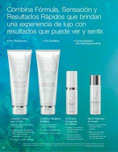 56 Sérum Reductor de Líneas† • Reduce la apariencia de líneas finas y arrugas. • Mejora la suavidad, el resplandor y la lu...