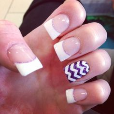 Lovely Acrylic Nail Designs French Tip 2017 - https://www.nailsdesign.me/lovely-acrylic-nail-designs-french-tip-2017/