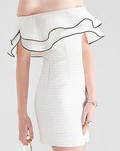 Vestido blanco de vuelos #Clutches.dr #vestidos #dresses #vestidoblanco #whitedress One Shoulder, Shoulder Dress, Instagram, Dresses, Fashion, Flare Dress, White Dress, Summer Dresses, Vestidos