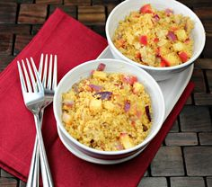 Apple Curry Couscous: http://www.generationyfoodie.com/2012/01/apple-curry-couscous.html