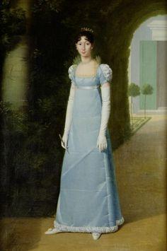 Retrato de Charlotte Christine Bonaparte (más tarde Gabrielli), 1808, de Jean-Pierre Granger