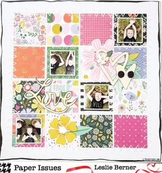 Grid Lock   Paper Issues Diy Scrapbook, Scrapbooking Layouts, Multi Photo, Crate Paper, Grid Design, Scrapbooks, Projects To Try, Kids Rugs, Quilts