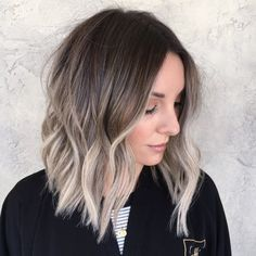 Top 20 Spring Highlight Ideas for Short Hair 2019 Hairstyle Fix Ash Blonde Balayage Fix Hair Hairstyle Highlight Ideas short spring Top Blond Beige, Ombre Blond, Ombre Hair Color, Ash Beige, Ash Ombre, Ash Blonde Hair Balayage, Beauté Blonde, Brown Hair With Blonde Ends, Dark Roots Blonde Hair Short