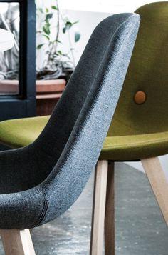 Eyes wood - Erik Jørgensen Danish Design, Woods, Public, Chairs, Interiors, Eyes, House Styles, Kitchen, Furniture