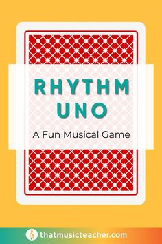 Here is a fun printable card game you can grab for your elementary music classroom today!  #CardGame #Music #Education #Activity #Printable #Teacher Music Teachers, Music Education, General Music Classroom, Elementary Music Lessons, Music Lesson Plans, Music Activities, Lesson Planning, Teacher Tips, Student Teaching