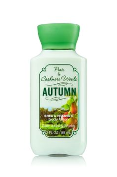 Autumn Travel Size Body Lotion - Signature Collection - Bath & Body Works $5.00