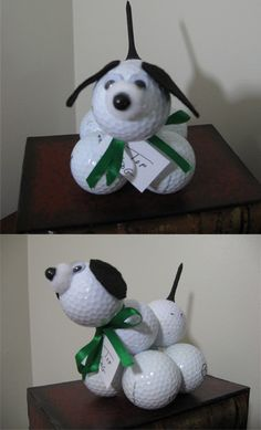 Golf Ball Dog - 99 Crafting