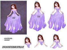 3D DISNEY Debbie Moore, Disney Paper Dolls, 3d Sheets, Disney Cards, Sofia Party, 3d Cards, Decoupage Paper, Fairy Dolls, Disney Cartoons