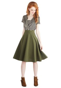 Bugle Joy Skirt, #ModCloth