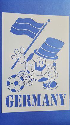 1 Motiv Schablone Fussball Wandbilder Wandtattoos