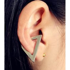 Cheap clip stud, Buy Quality fashion studs directly from China studs for women Suppliers: New fashion jewelry Hiphop punk Triangle clip stud gift for women girl Cute Jewelry, Jewelry Accessories, Fashion Accessories, Piercings, Fashion Earrings, Fashion Jewelry, Women Jewelry, Hiphop, Punk