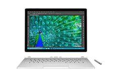 Le summum de la polyvalence et des performances, le Surface Book offre toute la puissance pour vous accompagner lorsque l'inspiration se fait sentir. Disponible avec un espace de stockage de 128 Go à 512 Go