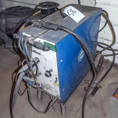 MILLER MIG WELDER, MODEL No. MILLERMATIC 200. BIDDING OPEN NOW THROUGH JULY 31ST!