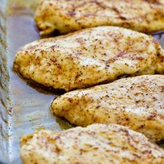 Easy Baked Chicken Breasts | Tender, Juicy and Flavorful