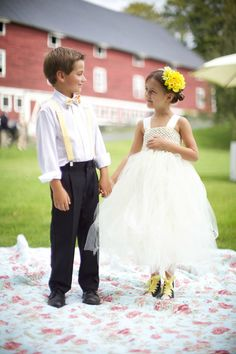 tutu skirt for flower girls still trending #OliverINK on Etsy wedding ideas