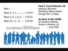 Alcoholics Anonymous - Paul F. - AA Big Book Workshop, taking the 12 steps as done in the 1940's - YouTube