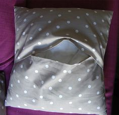 Ideas que mejoran tu vida Diy Curtains, Dory, Bean Bag Chair, Recycling, Patches, Textiles, Pillows, Sewing, Pattern