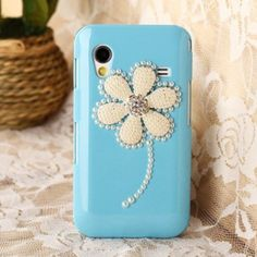 New Bling 3D Pearl Flower Case Cover For Samsung Galaxy S5830 S5830i Mobile Phone Blue by SKYTECH, http://www.amazon.com/dp/B00EI8WR9W/ref=cm_sw_r_pi_dp_vFHgsb03KZ1R0