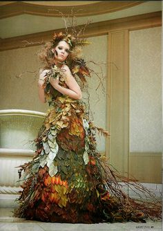 Floral fantasy fashion show sells out at Missouri Botanical Garden - Autumn Fairy Source by jmarkhofer - Fall Fashion Outfits, Fashion Show, Autumn Fashion, High Fashion, Fashion Guide, Warm Outfits, Classy Outfits, Gothic Fashion, Chic Outfits
