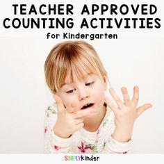 Need some free counting activities for kindergarten? Click through to see our awesome collection of easy prep kindergarten number activities. Numbers Kindergarten, Kindergarten Activities, Preschool Science, Toddler Preschool, Preschool Learning, Early Math, Early Learning, Counting Activities, Number Activities