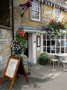 Lucy's Tearoom in the Cotswold