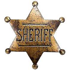 Old West Sheriff Badge by cmnixon.deviantart.com on @DeviantArt