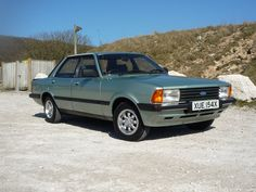 1982 Ford Cortina Mk 5 yep I had one of these ! A 2.3 manual, in silver ...