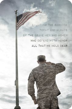 Saluting the service today and always of the brave men and women who defend with honor all we hold dear | Krysteena Marie Photography