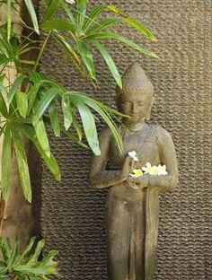 Balinese Buddha Garden Statue Measures 120cm x 30cm x 30cm www.balimystique.com.au