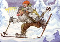 A great Scandinavian troll painter Rolf Lidberg died Februari 74 years old. Baumgarten, Pictures To Paint, Watercolor Illustration, Gnomes, Winter Wonderland, Fantasy Art, Fairy Tales, Artwork, Christmas Tale