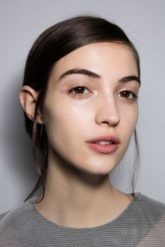 1205 at London Fall 2016. http://adventuresfortwo.com/ #makeup #beauty #runway #backstage