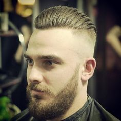 Still needs a Viking beard. Mens Hairstyles With Beard, Hair And Beard Styles, Hairstyles Haircuts, Cool Hairstyles, Moustaches, Cool Haircuts, Haircuts For Men, Gorgeous Hair, Beautiful Men