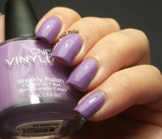 The Clockwise Nail Polish: CND Vynilux Lilac Longing