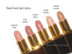 tom ford nude lipsticks