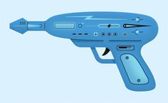 Trevor Basset's contribution to http://www.raygun52.com/ a project from Alex Griendling featuring 52 rayguns in 52 weeks