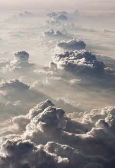 Clouds viewed from above