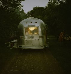 with an airstream...